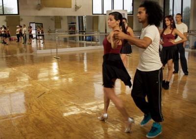 """""""A ritmo de fe"""" (José Gómez, 2013) es un filme que busca en el baile su mejor soporte argumentativo. Foto: Circus Films."""