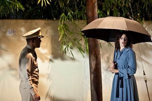 Mercedes Renard y Amaury Nolasco en una escena de la película. Foto: Amado Productions.