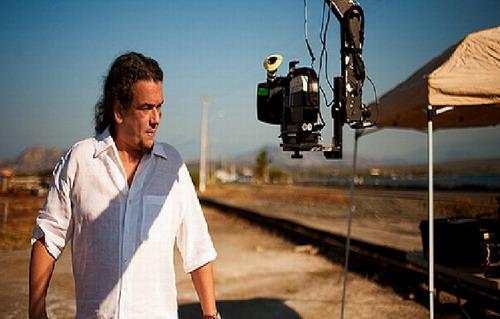 El director Juan Basanta durante el proceso de rodaje del filme. Foto: Fuente externa