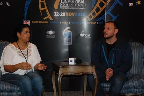 Ivette Marichal y Alan Nadal durante el conversatorio. Foto: Fuente externa.