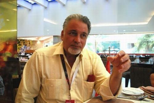 Luis Arambilet, representante dominicano de la Federación Iberoamericana de Productores de Cine  y Audiovisuales (FIPCA). Foto: José rafael Sosa