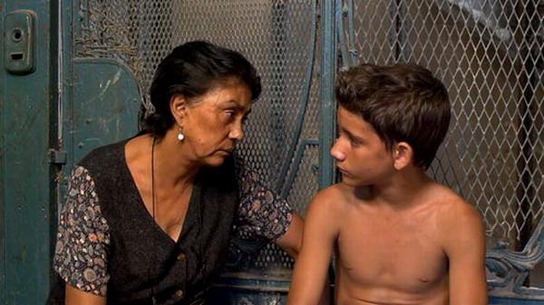 Alina Rodríguez y Armando Valdés, protagonistas del filme cubano. Foto: Fuente externa.