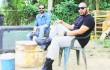 Jalsen Santana y Ronni Castillo baten el nuevo proyecto cinematográfico. Foto: Fuente externa