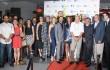 Actores, actrices e invitados especiales durante la noche de inauguración. Foto: Fuente externa.