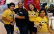 Freddyn Beras junto a su familia disfrutando de la presentación especial de McDonald´s. Foto: Fuente externa