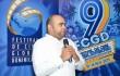 Omar de la Cruz, director del festival, mientras ofrecía detalles de la 9na., edición. Foto: Fuente externa