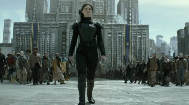 Jennifer Lawrence es Katnnis Everdeen, quien sigue arriengando su vida para liberar a los ciudadanos de Panem. Foto: Lionsgate