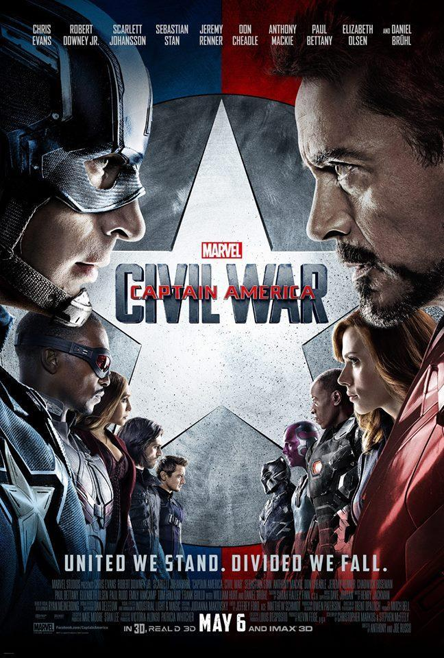 capitan america civil war