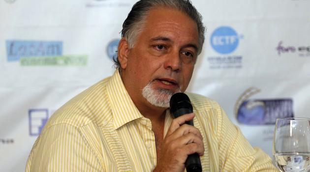 Luís Arambilet presidente de la Entidad de Gestión de los Derechos de los Productores  Audiovisuales,  (EGEDA).