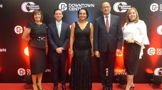 Austria Gómez, Gregory Quinn, Zumaya Cordero, José Antonio Rodríguez y Tammy Reynoso durante el acto inaugural. Foto: Fuente externa