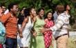 """El rodaje de la película """"Tubérculo Presidente"""" comenzó hace unos días en locaciones de San Cristóbal y Santo Domingo. . Foto:Panamericana producciones."""