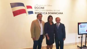 Juan Basanta, Yvette Marichal y Ellis Pérez durante el anuncio de la celebración del congreso. Foto: Fuente externa