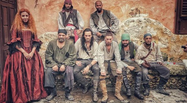 """Elenco español de la película de Héctor Valdez, """"Nadie muere en Ambrosia"""". Foto: Fuente externa"""
