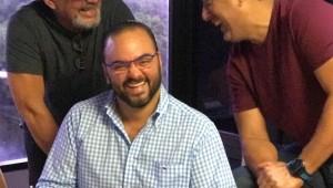 Alfonso Rodríguez, Francisco Vásquez y Giancarlo Beras-Goico. Foto: Fuente externa