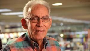 Armando Almánzar, cuentista, novelista y crítico de cine, Premio Nacional de Literatura 2012, constituye un referente de la literatura de ficción. Foto: Luís Martín Gómez