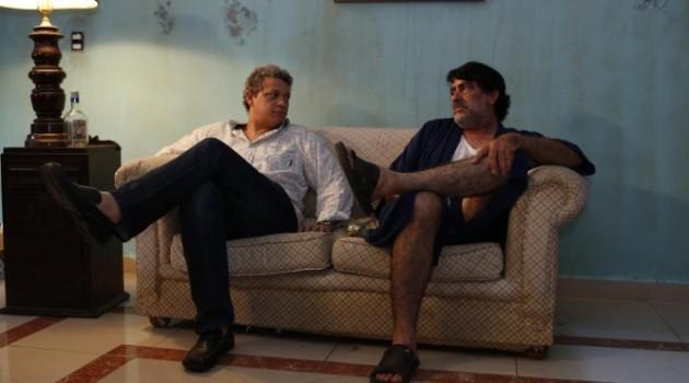 Aurelio (Phillip Rodríguez)  es un comediante que cuenta las vicisitudes de su propia vida profesional y artística. Foto: La Brújula Films.