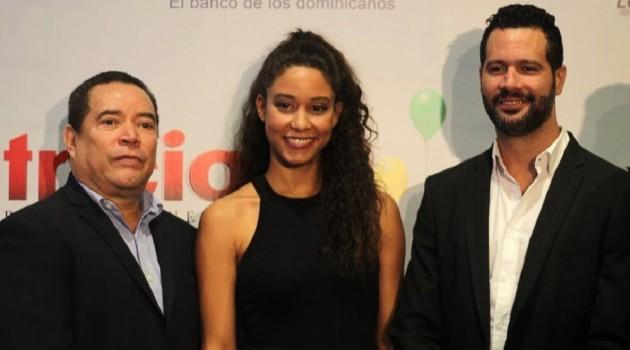 René Fortunato Stephany Liriano y Amaury Pérez durante el encuentro con la prensa. Foto: Fuente externa