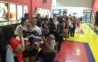 Público preparándose para apreciar la comedia en uno de los cines de Caribbean Cinemas. Foto: Fuente externa