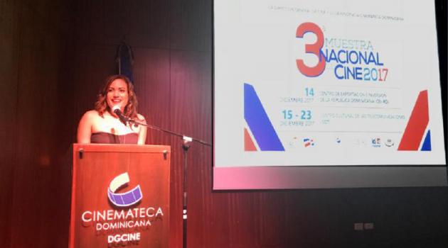 La directora d ela Cinemateca, Fiora Cruz, destacó la importancia de la labor que realiza esta dependencia en materia de conservación y difusión de los tesoros cinematográficos del país y el mundo. Foto: Fuente externa