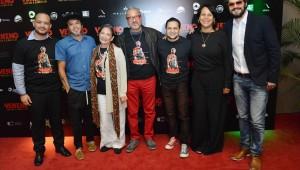Pepe Sierra, Tabare Blanchard, Yamile Shcker, Richard Douglas, Ovandy Camilo, Zumaya Cordero, Riccardo Bardelino. Foto: Fuente externa