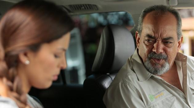 Alfonso Rodríguez y Ana Carmen León en una escena de la película. Foto: Ruben Abud.