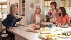 El filme cuenta con un cast estelar de reconocidos y premiados actores, protagonizada por las cuatro actrices ganadoras de premios Oscar Jane Fonda, Diane Keaton, Candice Bergen y Mary Steenburgen. Foto: Paramount Pictures