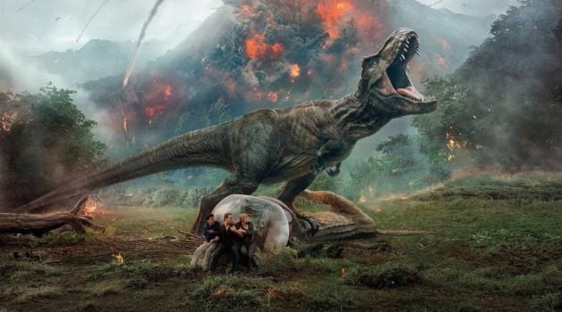 """""""Jurassic World: El Reino Caído"""" es la quinta película de la franquicia """"Jurassic Park"""" basada en los libros de Michael Crichton que inició su viaje en 1993 de la mano del director Steven Spielberg. Foto: Universal Pictures"""