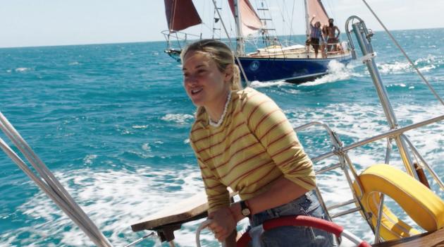 El largometraje se inspiró en la historia autobiográfica de Tami Oldham y su novio Richard Sharp.