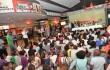 Centenares de niños y jóvenes de diferentes sectores de la capital participan en el acto de clausura del Festival Internacional de Cine Infantil, que se celebró en Palacio del Cine del centro comercial Sambil. Foto: Fuente externa