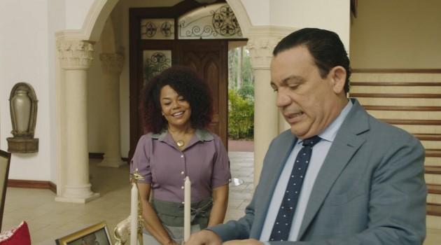 Cheddy García y Kenny Grullón son parte de los protagónicos de esta comedia debut del cineasta David Pagán. Foto: Bou Group