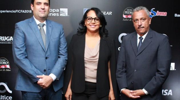 Danilo Ginebra, Zumaya Cordero y José D´ Laura. Foto: Fuente externa.