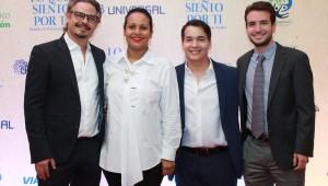 Frank Perozo, Zumaya Cordero, Raúl Camilo, Michael Carrady. Foto: Fuente externa.