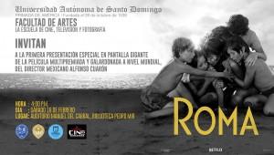 Roma, la película