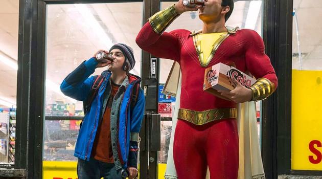 """""""¡Shazam!"""" está basada en el comic del primer superhéroe niño creado por el guionista Bill Parker y el dibujante Clarence Charles Beck en el año 1939, la película está dirigida por David F. Sandberg a partir del guión de Hanry Gaygen. Foto: DC."""