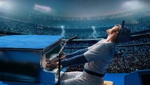 """""""Rocketman"""" es protagonizada por Taron Egerton, quien interpreta al icono del rock. Foto: Paramount Pictures"""