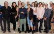 La Comisión Dominicana de Selección Fílmica (CDSF), ejecutivos de la DGCINE y miembros de las películas que representarán a la República Dominicana en los Premios Oscar y Goya 2020. Foto: Fuente externa.