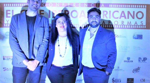 Diego Betancor, Yarissa Rodríguez y Luís Rosales. Foto. Fuente externa