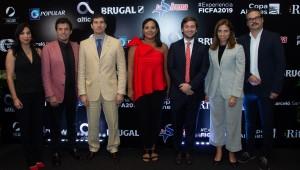 Maite Hernández, Luis Smok, Horacio Lazziri, Zumaya Cordero, Gregory Quinn, María Emilia Rinuado, Frank Perozo. Foto: Fuente externa