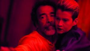 El actor mexicano Damian Alcazar y la escritora y cantante dominicana Rita Indiana, en una escena de la película. Foto: Fuente externa